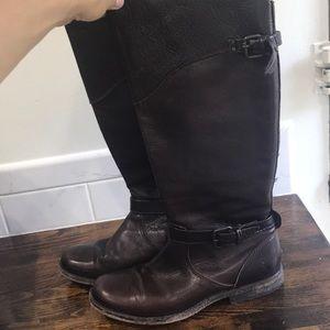 Chocolate Frye Boots